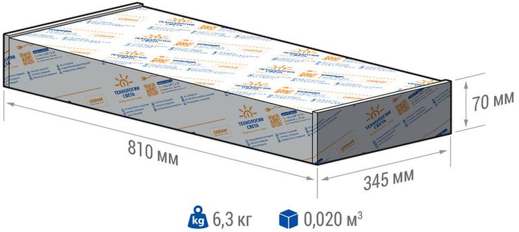 Светильники TL PROM 200 упаковка