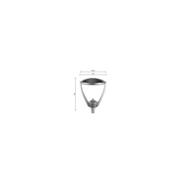 Галад Факел - размер плафона